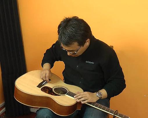 L.R.Baggs Anthem 原声吉他拾音器安装