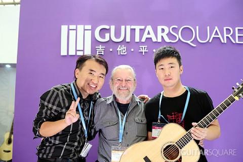 Jean Larrivee,吉他平方豪哥与指弹吉他演奏家王开仲老师合影