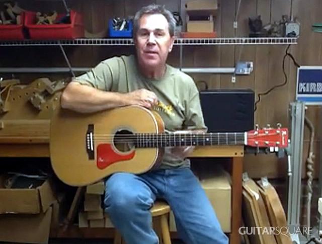 L.R.Baggs Anthem拾音器安装在Redneck吉他上