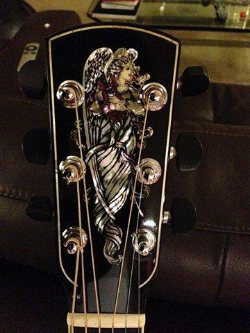 1996年如获至宝的Larrivee吉他